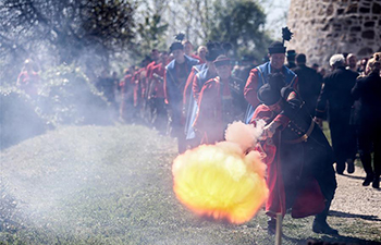 Highlights of firing flintlocks at Easter in Croatia