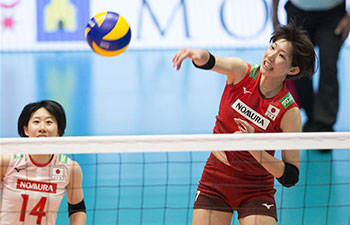 Montreux Volleyball Masters: Japan defeats China 3-1