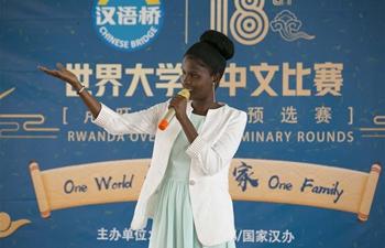 Rwandan students showcase Chinese language skills