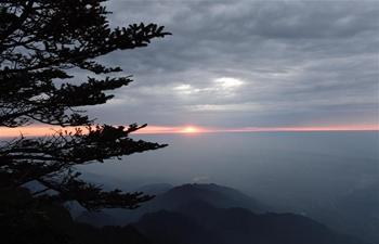 Scenery of Mount Emei in China's Sichuan