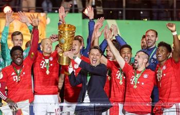 Bayern Munich beats RB Leipzig 3-0 to claim German Cup title