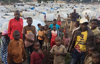 In pics: people in refugee camp in Ituri, DRC