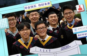 University graduation ceremonies held across China