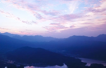 Scenery of Hongcun scenic area in east China's Anhui