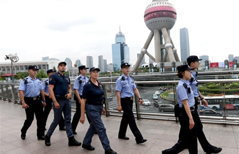 Chinese, Italian police conduct joint patrol in Shanghai, Guangzhou