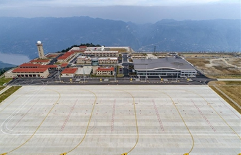 """High-in-the-clouds"" airport expected to begin operation in mid-August in SW China"