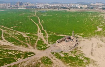 China's largest freshwater lake enters dry season