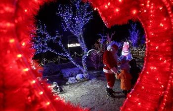 "View of ""Christmas Village"" in Dolac Gornji, Croatia"