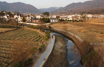 Scenery of Pingshan Village in east China's Anhui