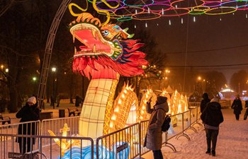Festival of Chinese lanterns held in Moscow
