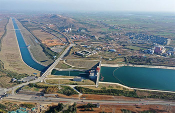 In pics: south-to-north water diversion project in Nanyang, China's Henan