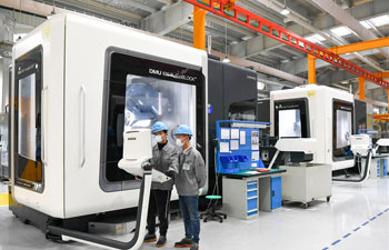 Enterprises in China resume production