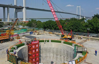Major construction projects in Guangdong-Hong Kong-Macao Greater Bay Area resume