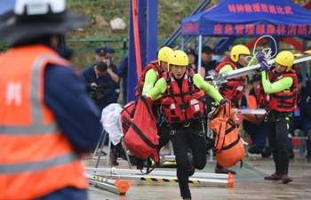Special rescue skills competition kicks off in Fuzhou