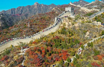 Scenery of Badaling Great Wall in Beijing
