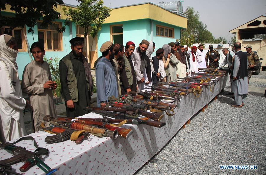 AFGHANISTAN-NANGARHAR-MILITANTS SURRENDER