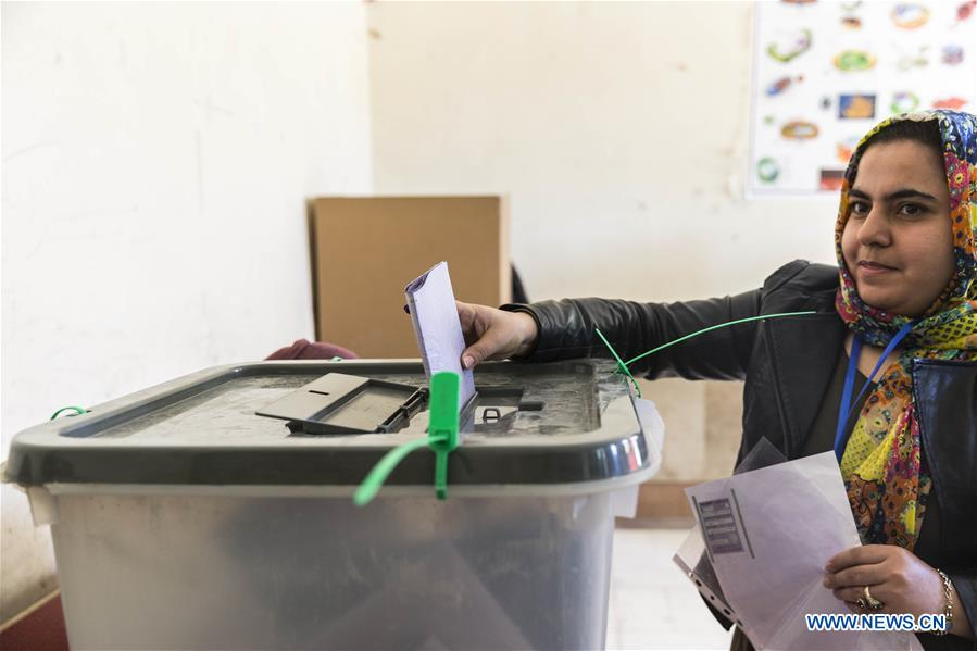 Afghans vote in parliamentary elections amid tight security