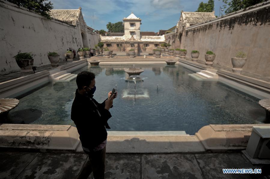 In Pics Taman Sari Tourism Site