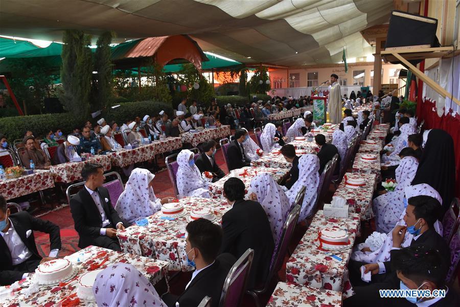 AFGHANISTAN-BALKH-COLLECTIVE WEDDING