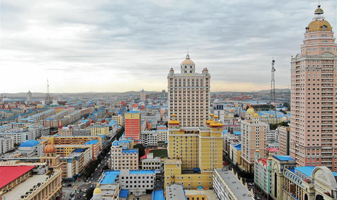 Manzhouli, China's border city with Russia, benefiting from import, export trade