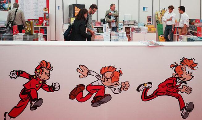 Annual Comic Strip Festival held in Brussels