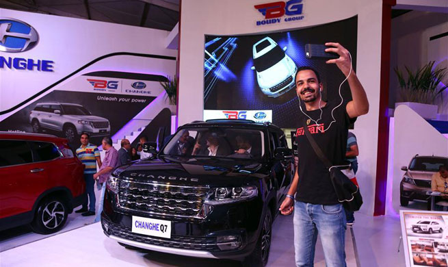 Chinese cars glitter at Egypt auto show amid growing popularity