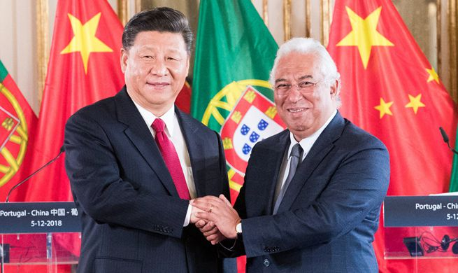 China, Portugal pledge to jointly push forward construction of Belt and Road