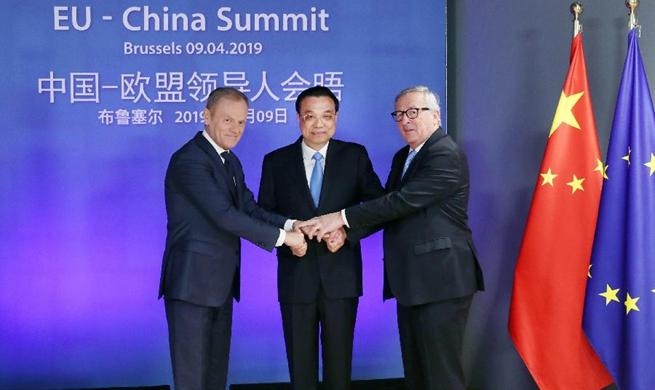 Spotlight: China, EU pledge to deepen partnership, defend multilateralism