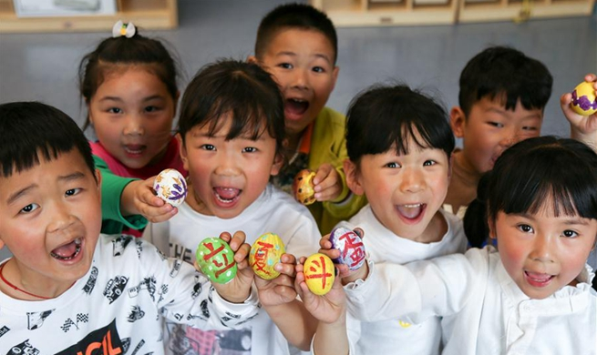 "Folk custom activities held to mark upcoming ""Lixia"" in China"