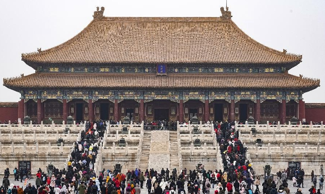 Xinhua Headlines: From Forbidden City to people's museum, Palace Museum witnesses changing China