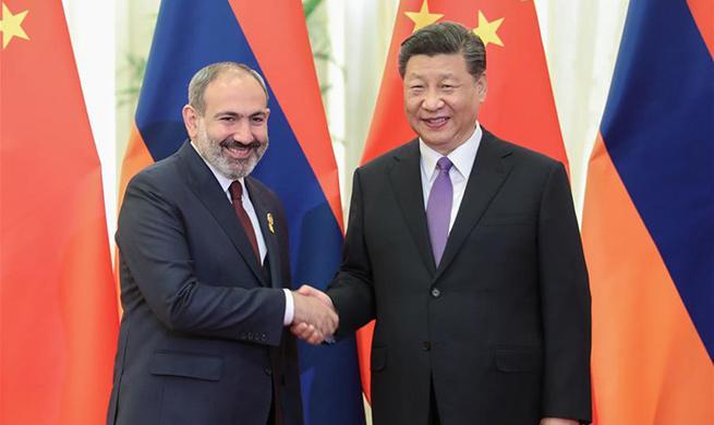 Xi meets Armenian PM
