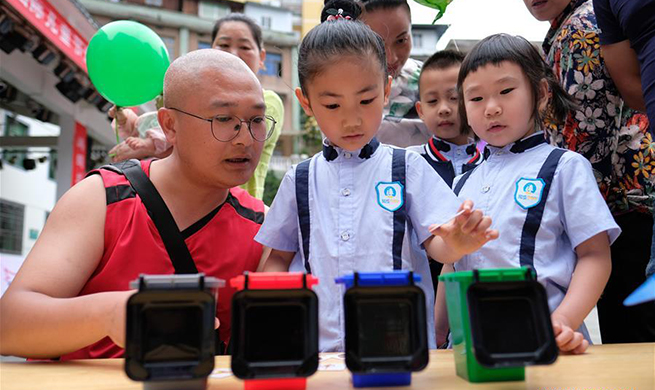 Various events held in celebration of upcoming Int'l Children's Day across China