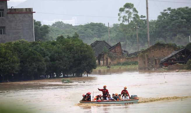 Guangxi upgrades meteorological disaster emergency response due to rainstorms