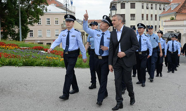 Croatian, Chinese police kick off 2nd joint patrol