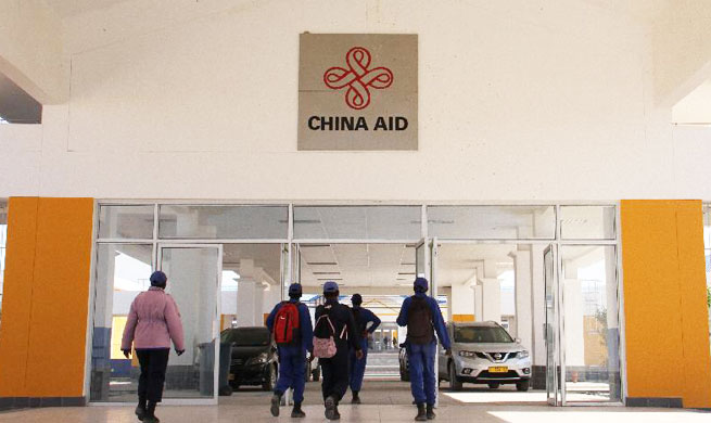 Chinese-funded youth training center handed over to Namibian government
