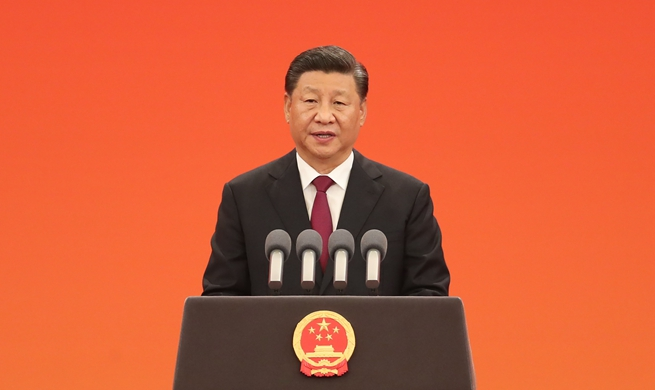 Xi Focus: Xi confers highest state honors on individuals ahead of National Day