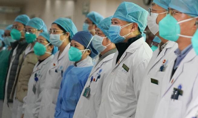 Fight against pneumonia caused by novel coronavirus in Wuhan