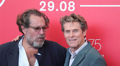 """75th Venice Film Festival: photocall for """"At Eternity's Gate"""""""