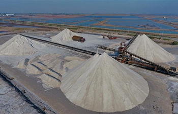 In pics: Changlu in China's Hebei major production base for sea salt