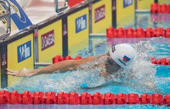 Highlights of FINA Short Course Swimming World Cup