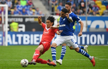 FC Schalke 04 defeats Fortuna Duesseldorf at Bundesliga match