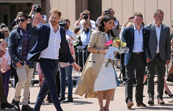 Royal couple Prince Harry, Meghan visit Australia