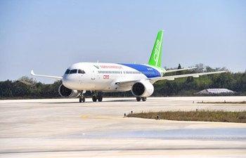 No.102 C919 plane to undergo rigorous tests at Nanchang Yaohu Airport