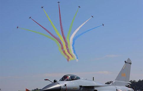 Aerobatic teams perform at Airshow China in Zhuhai