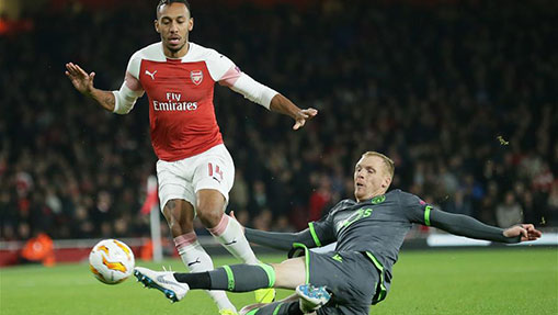 Arsenal draws with Sporting Lisbon 0-0 in UEFA Europa League