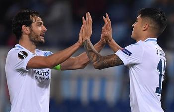 Lazio defeats Marseille 2-1 in UEFA Europa League