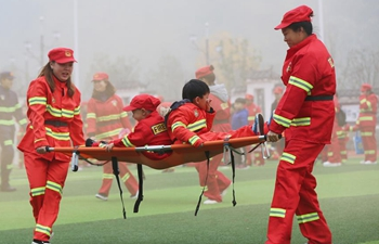 Fire safety awareness promoted at kindergarten in China's Hunan