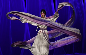 Peking Opera staged during Carthage Theater Days festival in Tunisia