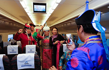 New sector of high-speed rail network in N China starts operation