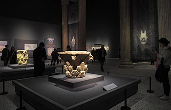 Cultural relics from National Museum of Afghanistan exhibited in C China